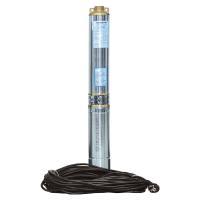 Насос центробежный скважинный 0.75кВт H 58(38)м Q 140(100)л/мин Ø102мм (кабель 30м) AQUATICA (DONGYIN) (777493)