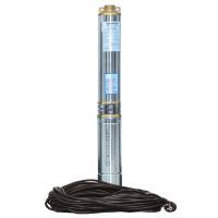 Насос центробежный скважинный 1.1кВт H 87(66)м Q 100(60)л/мин Ø102мм (кабель 45м) AQUATICA (DONGYIN) (777474)